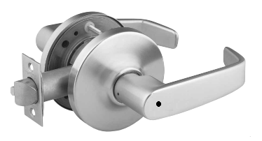 Sargent 28-10U65-LB-26D Privacy, Cylindrical Lever Lock