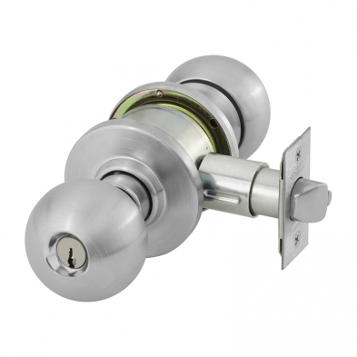 SA/28-6G05-OB-26D Sargent 28-6G05-OB-26D Entry/Office, Cylindrical Knob Lock