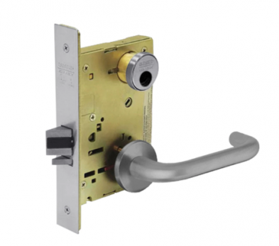 Sargent 8204-LNJ-26D Storeroom or Closet Mortise Lock