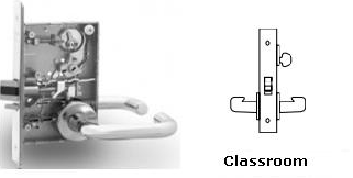 Sargent 8237-26D Classroom Mortise Lock, Lock Body Only