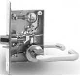 Sargent 8255-LNB-10B Office or Entry Mortise Lock