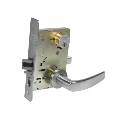 SA/8255-LNB-26D Sargent 8255-LNB-26D Office or Entry Mortise Lock