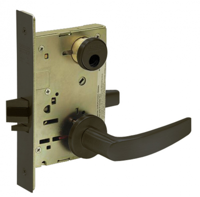 Sargent LC-8255-LNB-10B Office or Entry Mortise Lock