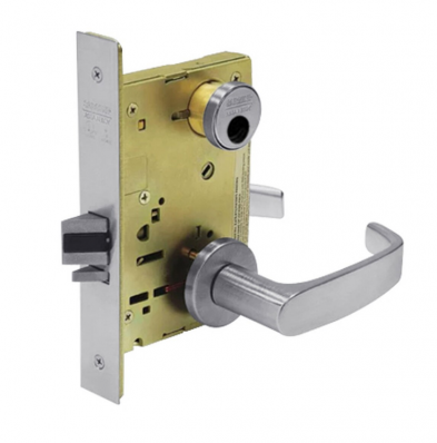 Sargent LC-8255-LNL-26D Office or Entry Mortise Lock