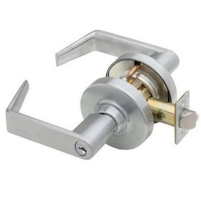 SC/ALX50J-RHO-626 Schlage ALX50J-RHO-626 Rhodes Office Satin Chrome Lever
