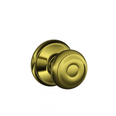 SC/F10-GEO-609 Schlage F10-GEO-609 Passage Latch, Georgian Knob