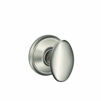 SC/F10-SIE-619 Schlage F10-SIE-619 Passage Latch, Siena Knob, Satin Nickel
