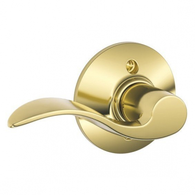 Schlage F170-ACC-605-LH Single Dummy, Accent Lever