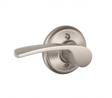 Schlage F170-MER-619-LH Single Dummy, Merano Lever