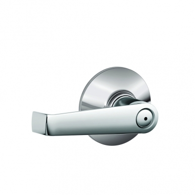 SC/F40-ELA-625 Schlage F40-ELA-625 Privacy Lock, Elan Lever, Bright Chrome