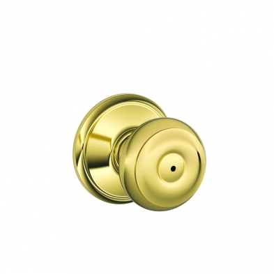 SC/F40-GEO-605 Schlage F40-GEO-605 Privacy Lock, Georgian Knob