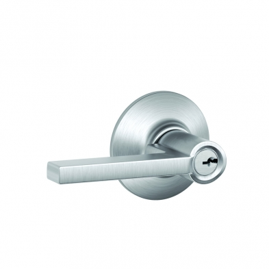 SC/F51A-LAT-626 Schlage F51A-LAT-626 Entry Lock, Latitude Lever