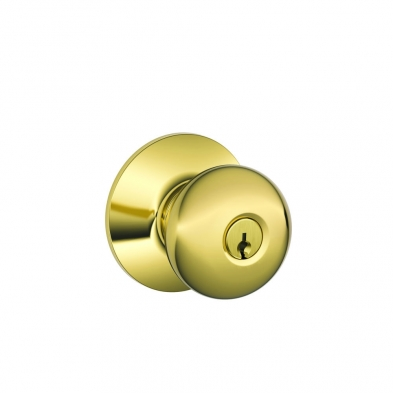 SC/F51A-PLY-505 Schlage F51A-PLY-505 Entry Lock, Plymouth Knob