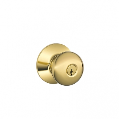 SC/F51A-PLY-605-KD Schlage F51A-PLY-605-KD Entry Lock, Plymouth Knob