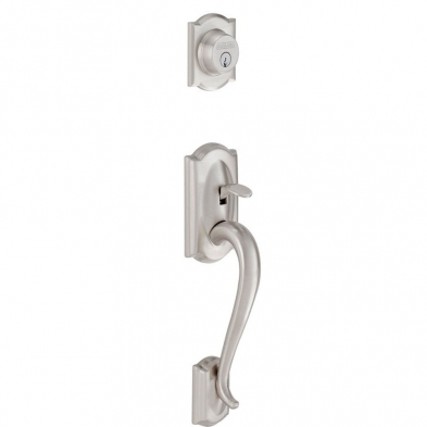 Schlage F58-CAM-619 Entrance Handleset Exterior Only