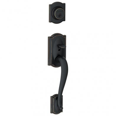 SC/F58-CAM-716 Schlage F58-CAM-716 Entrance Handleset Exterior Only