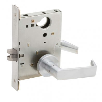 Schlage L9010-06A-630 Passage Mortise Lock