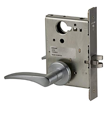 Schlage L9010-12A-630-RH Passage Mortise Lock