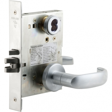 Schlage L9050BD-17A-626 Office Mortise Lock