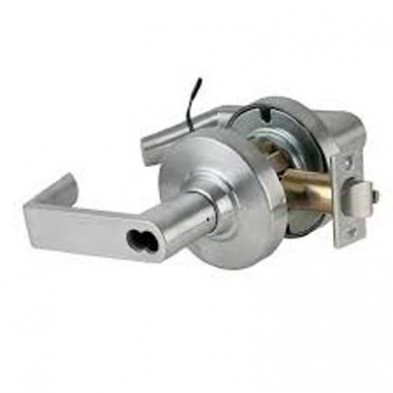 "SC/ND80JD-EU-RHO-626 Schlage Electrified Lock, Fail Secure, SFIC Prep, 2-3/4"" BS"