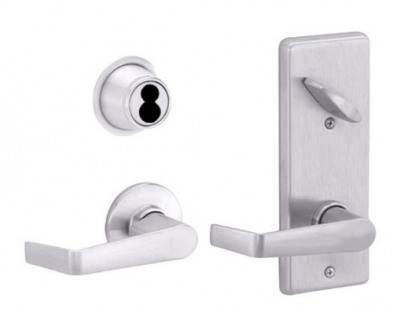 Schlage S210JD-SAT-626 Interconnected Entrance Lock