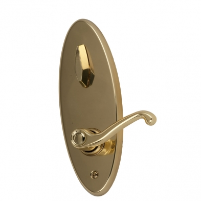 SC/S210PD-FLA-605-LH Schlage S210PD-FLA-605-LH Interconnected Entrance Lock