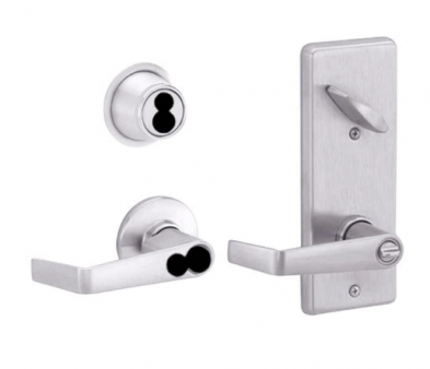 Schlage S251JD-SAT-626 Interconnected Entrance Lock