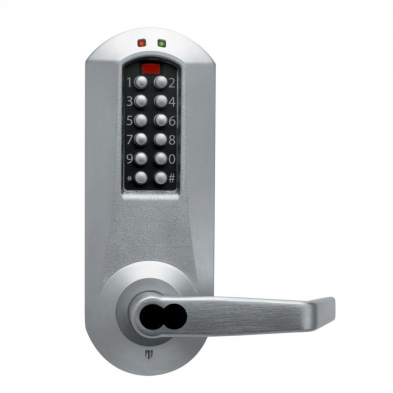 Kaba Access E5031BWL-626 Electronic Pushbutton Lock