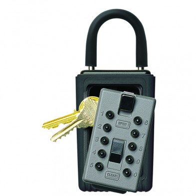 Supra C3-PRO Key Safe Portable Combo Pushbutton Key Lock Box
