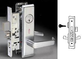 Yale 8847FL-626 Lever Mortise Lock Body