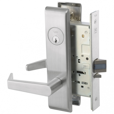 Yale AUCN8807FL-626 Mortise Office Entry Lock