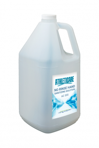 AC555 Athleticare - No-Rinse Hand Sanitizing Solution - 4 Gal/Cse