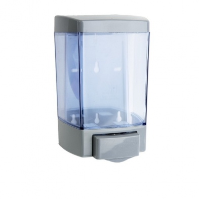 MC1060 Clear VU Grey Soap Dispenser 46oz