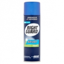 MC6003 Right Guard Sport Antiperspirant - Fresh Scent 12/Cse (Blue)