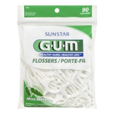 MC6075 GUM ECONOMY FLOSSERS 30packs/case X 90/pack