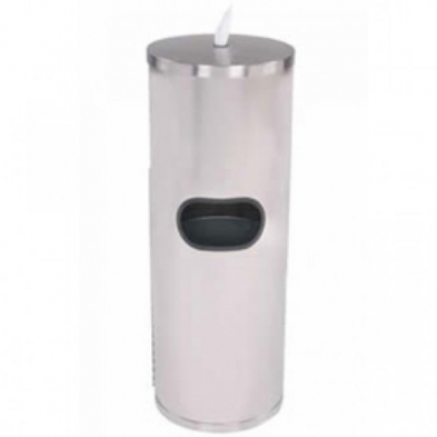 MC7065 XWIPES Stainless Steel Floor Dispenser