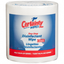 MC7093 CERTAINTY Plus Disinfectant Wipes 99000 - 2 rls/cs 800/roll