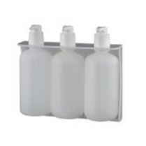 PD100S-B3 BUTTRESS TRIPLE BOTTLE HOLDER- WHITE