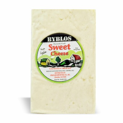 10-189-2 BYBLOS SWEET CHEESE (CURD) 15 LB