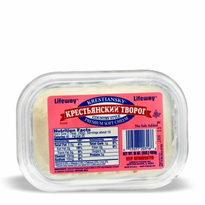 10-366-2 FARMERS CHEESE KRESTYANSKY   8/1 LB