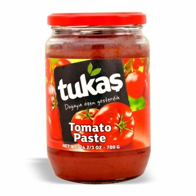 25-191-1 TUKAS TOMATO PASTE JAR 12/24 OZ