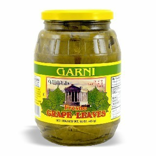 27-125-1 GARNI GRAPE LEAVES  12/16 OZ