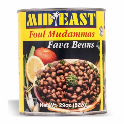 34-101-1 M.E. SMALL FAVA CANS 12/30 OZ