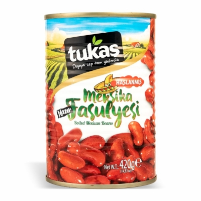 36-176-1 TUKAS MEXICAN RED BEANS 12/420 GR