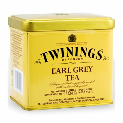 45-100-1 TWININGS EARL GRAY           6/3.5  OZ