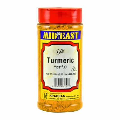 61-107-1 M.E. TUMERIC POWDER 12/8 OZ