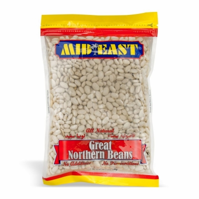 70-200-1 M.E. GREAT NORTHERN BEANS***21/24 OZ