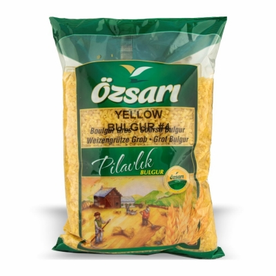 75-252-1 OZSARI BULGUR YELLOW COARSE #4 12/1 KG