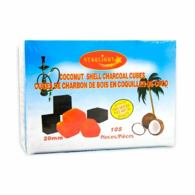 90-337-3 CHARCOAL COCONUT 25 MM 12/105 PC