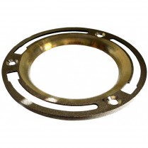 MD-107 Flat Brass Floor Flange